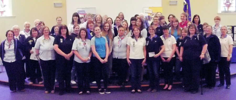 ANNUAL GIRLGUIDING FIFE AWARDS CEREMONY 2015
