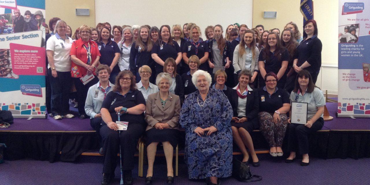 Annual Girlguiding Fife Awards Ceremony 2016