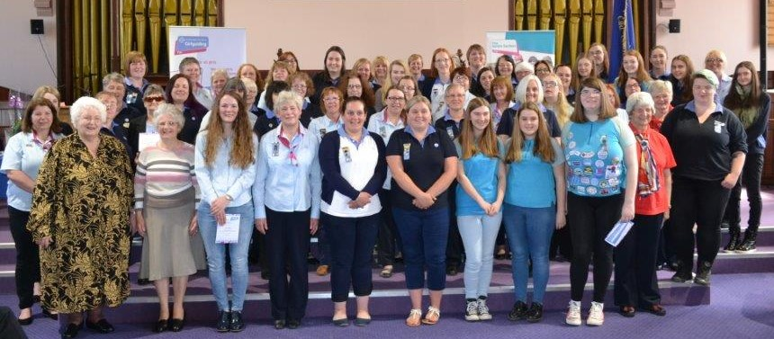 Annual Girlguiding Fife Award's Ceremony 2017